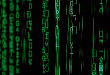 Hacker binary attack code.