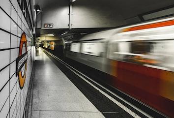 A fast train (source: https://unsplash.com/photos/60VrGk-bfeA)