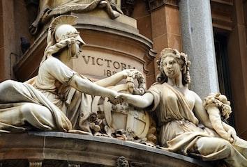 Sculpture adorning the General Post Office, Sydney, Australia