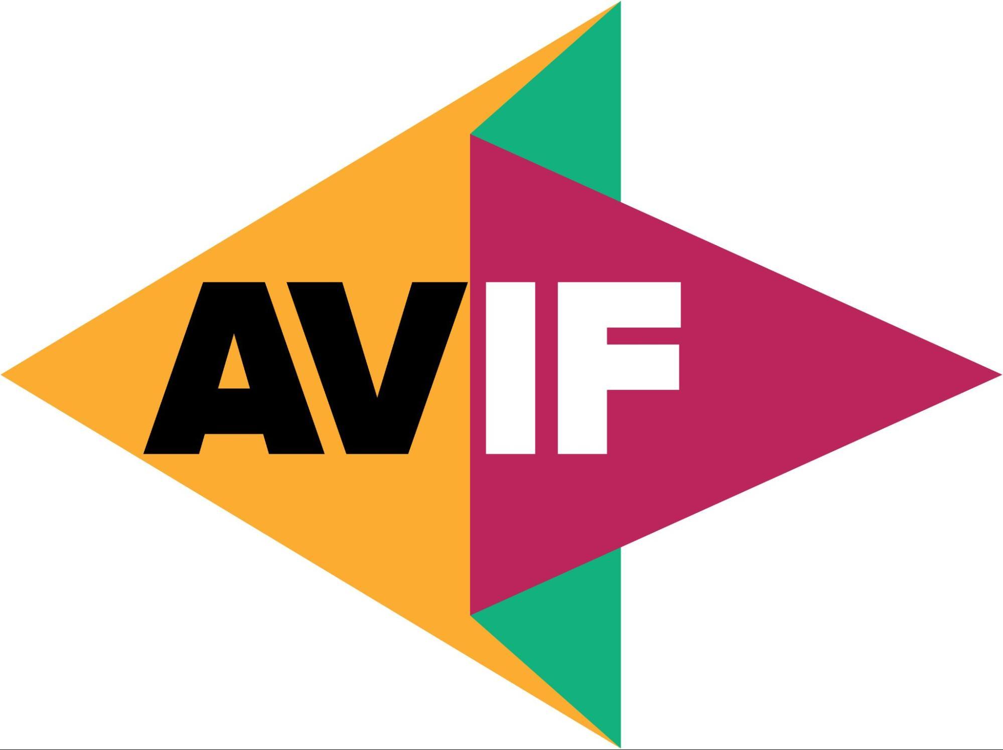 The AVIF logo