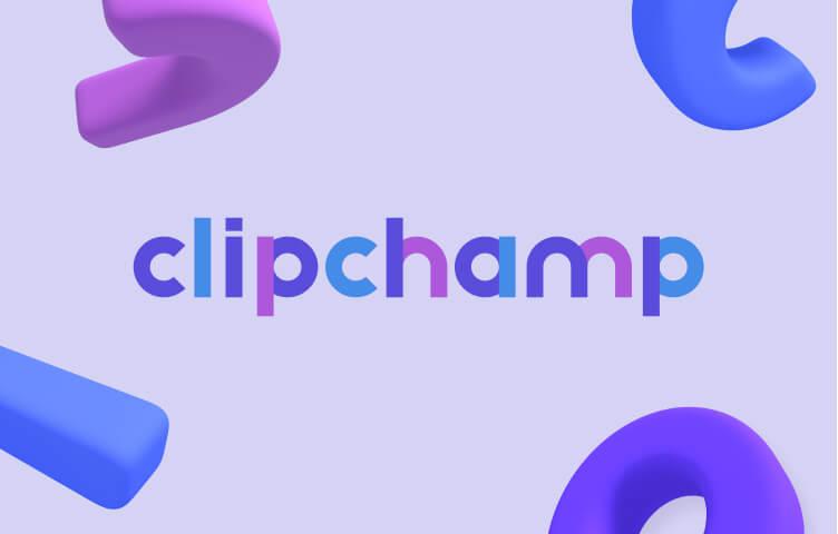Clipchamp's logo.
