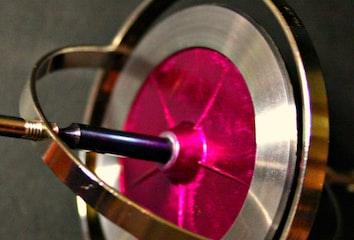 A simple gyroscope.