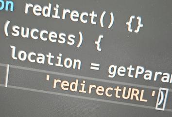 Code snippets demonstrating cross-site scripting vulnerabilities.