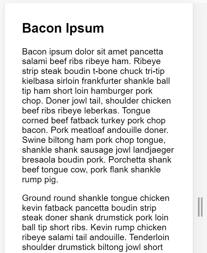 Screenshot of a a page of text on a mobile device