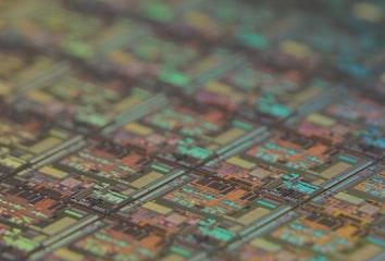 Computer processor graphic