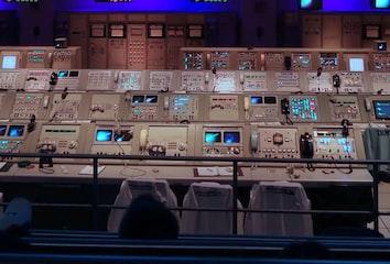 Apollo Mission Control Center.