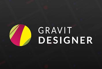 Gravit Designer's logo.