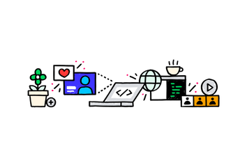 The web.dev LIVE logo.