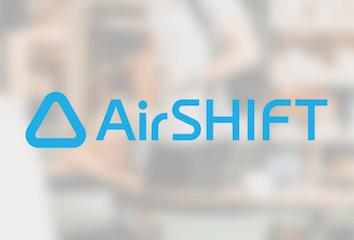 AirSHIFT's logo.
