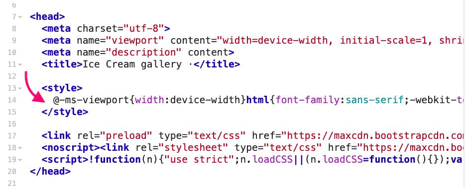 중요 CSS 즉시 처리됨