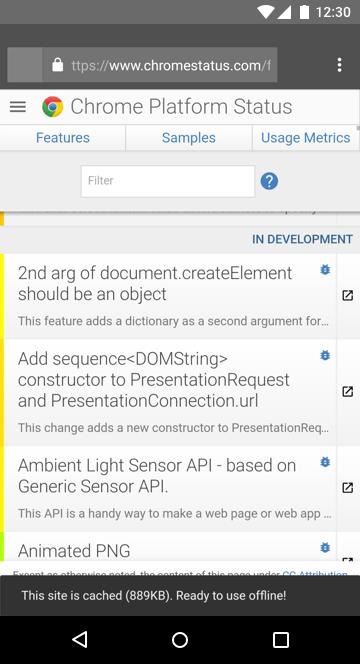 Chrome Status site is offline