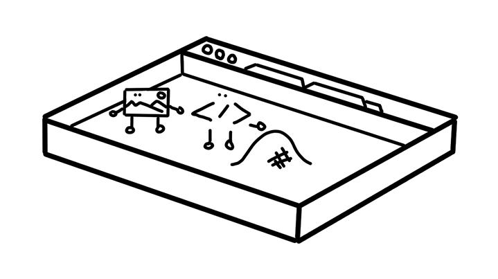 browser as a sandbox