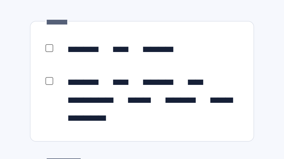 Screenshot showing how the checkmark aligns to      the first line of text in a multi-line wrapping scenario.
