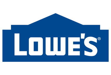 The Lowes logo.