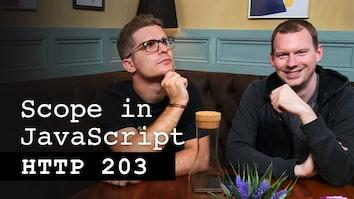 Scope in JavaScript - HTTP 203