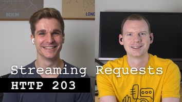 Streaming requests with fetch - HTTP 203