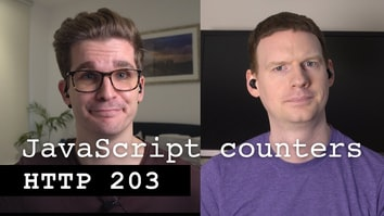 JavaScript counters the hard way - HTTP 203