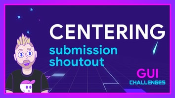 Submission shoutout for CENTERING