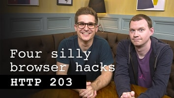 Four silly browser hacks - HTTP 203