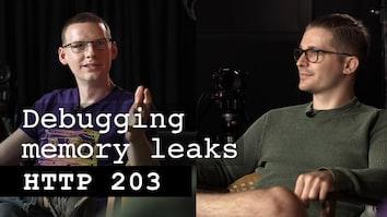 Debugging memory leaks - HTTP 203