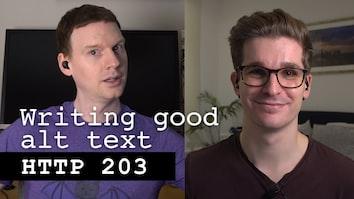 Writing Good Alt Text - HTTP 203
