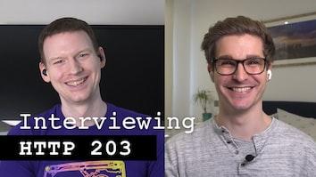 Conducting tech interviews - HTTP 203