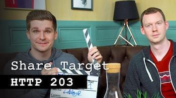 Share Target - HTTP 203