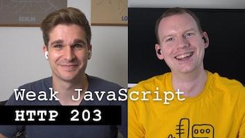 Weak JavaScript - HTTP 203