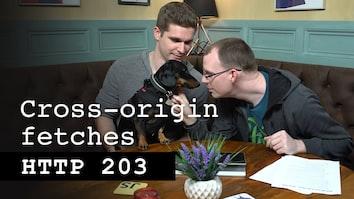 Cross-origin fetches - HTTP 203