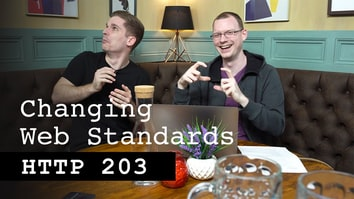 Changing web standards - HTTP 203