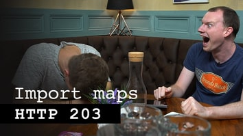 Import maps - HTTP 203